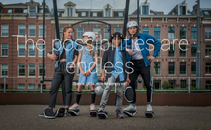 NINEBOT BY SEGWAY DRIFT W1 HOVERSHOES