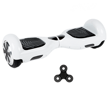 2019 APP ENABLED 6.5 Inch White Classic Hoverboard Disco Samsung - 30% sale - Segwayfun