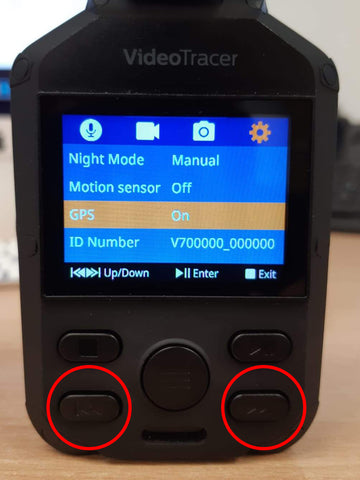 How to configure GPS tagging with the Philips DVT3120 Step 3