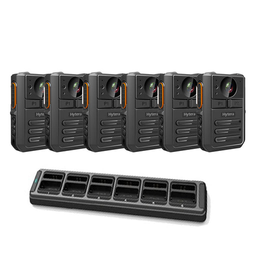 Hytera VM550 Complete BodyCam Kit (6 users) Bundles Hytera - BodyCamera.co.uk - Body Worn Security Systems