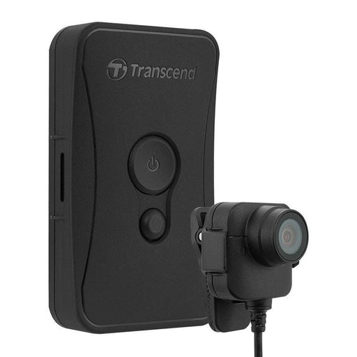 Transcend DrivePro 52 Body Camera 32GB Body Worn Camera Transcend - BodyCamera.co.uk - Body Worn Security Systems