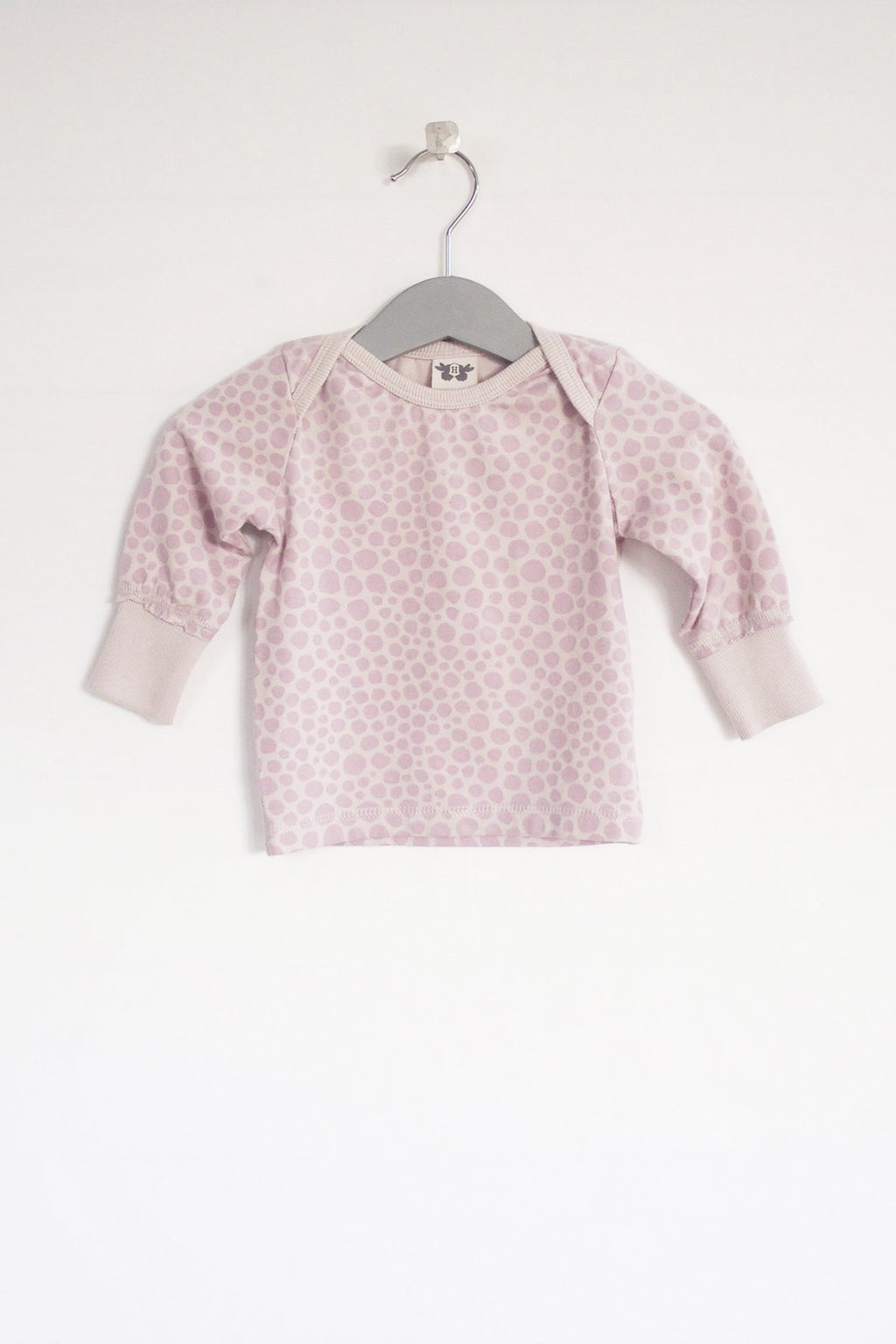 ELLIOT long sleeve top - print pink