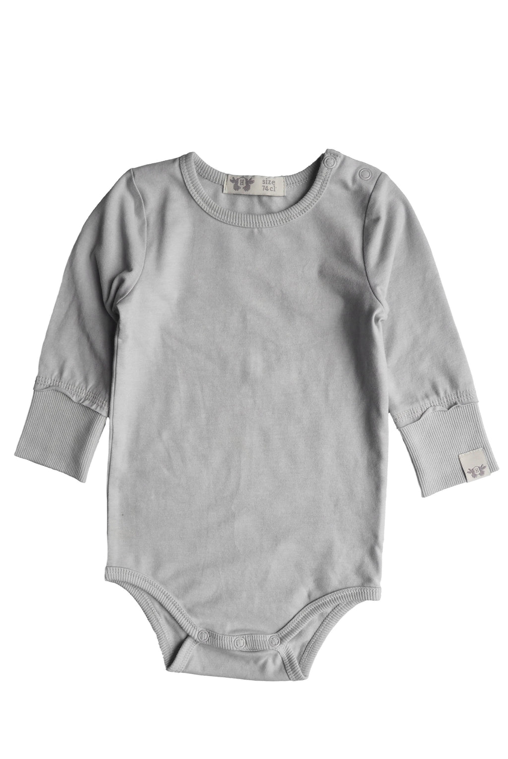 LINUS enfärgad body - Light Grey