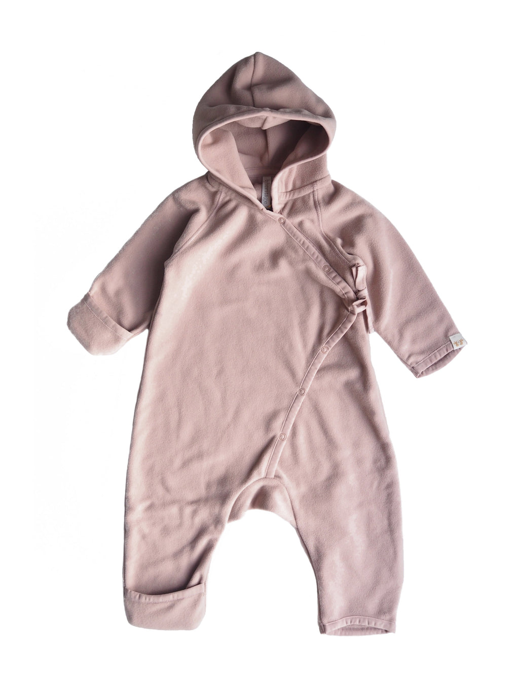 Fleece overall - Old pink