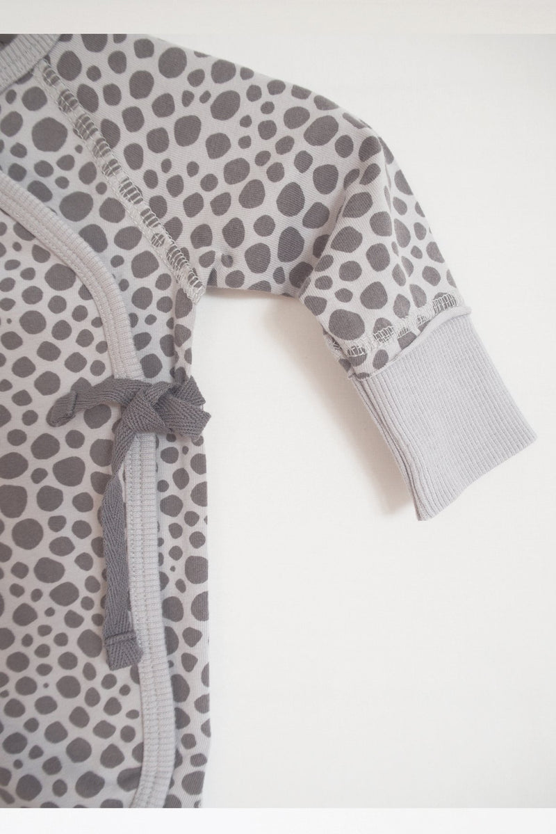 Playsuit printed grey