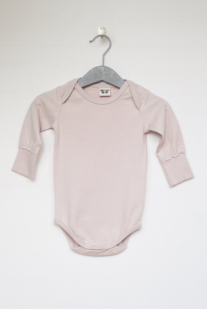 LINUS enfärgad body - Old Pink