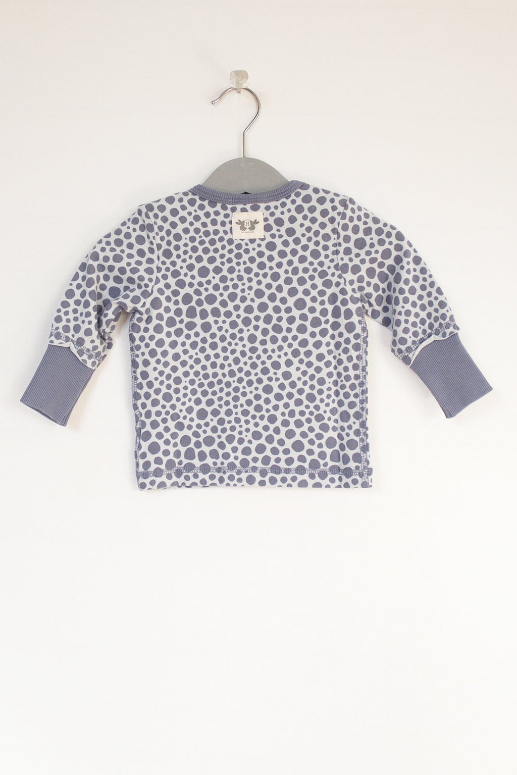 ELLIOT long sleeve top - print indigo blue