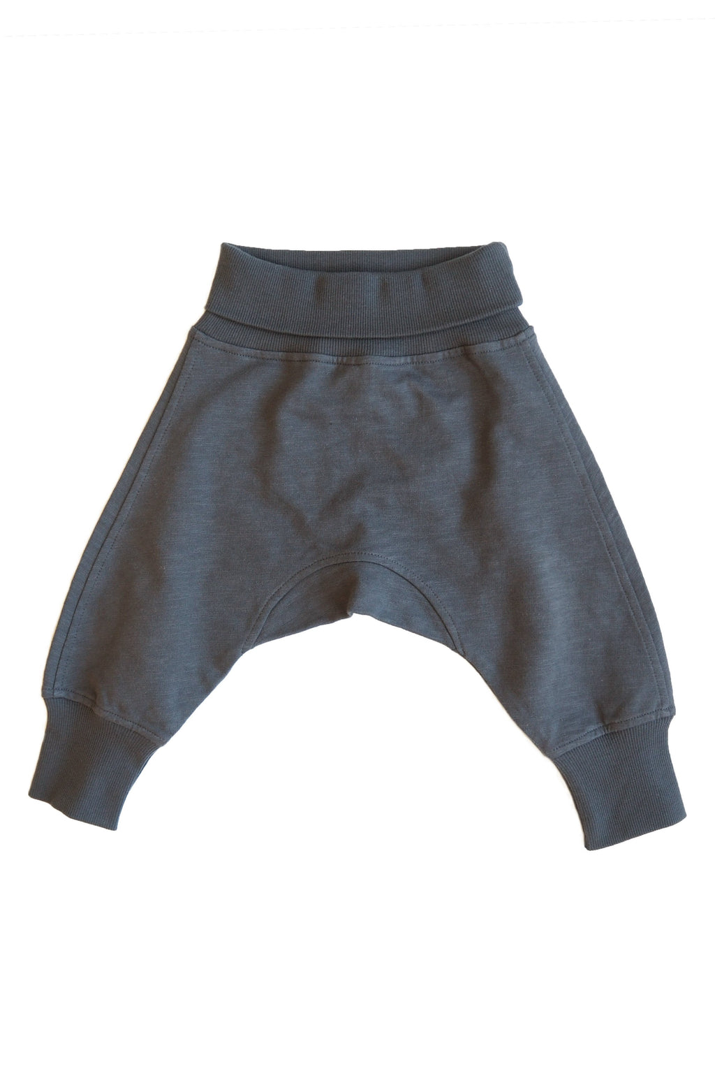 MAX baggy trousers i ekologisk bomull - Dark Grey