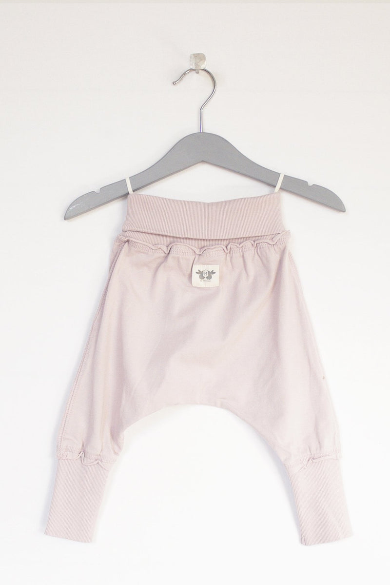 AGATON baggy trousers organic cotton - dusky pink