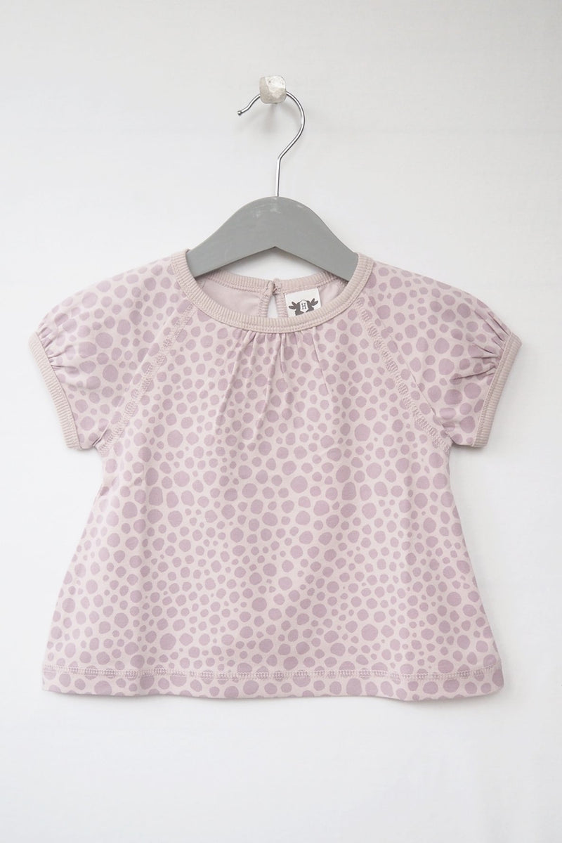ELSA top short sleeve - print pink