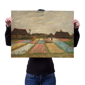 Flower Beds in Holland by Vincent van Gogh 18x24 Poster