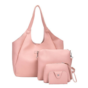 Jorgie Shaw Leather Handbag Set