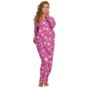 Angelina Cozy Fleece Pajama Set (1-Pack)