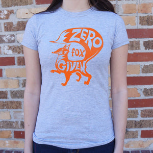 Zero Fox Given T-Shirt (Ladies)