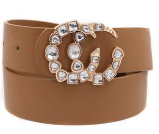 Sparkle Buckle Belt