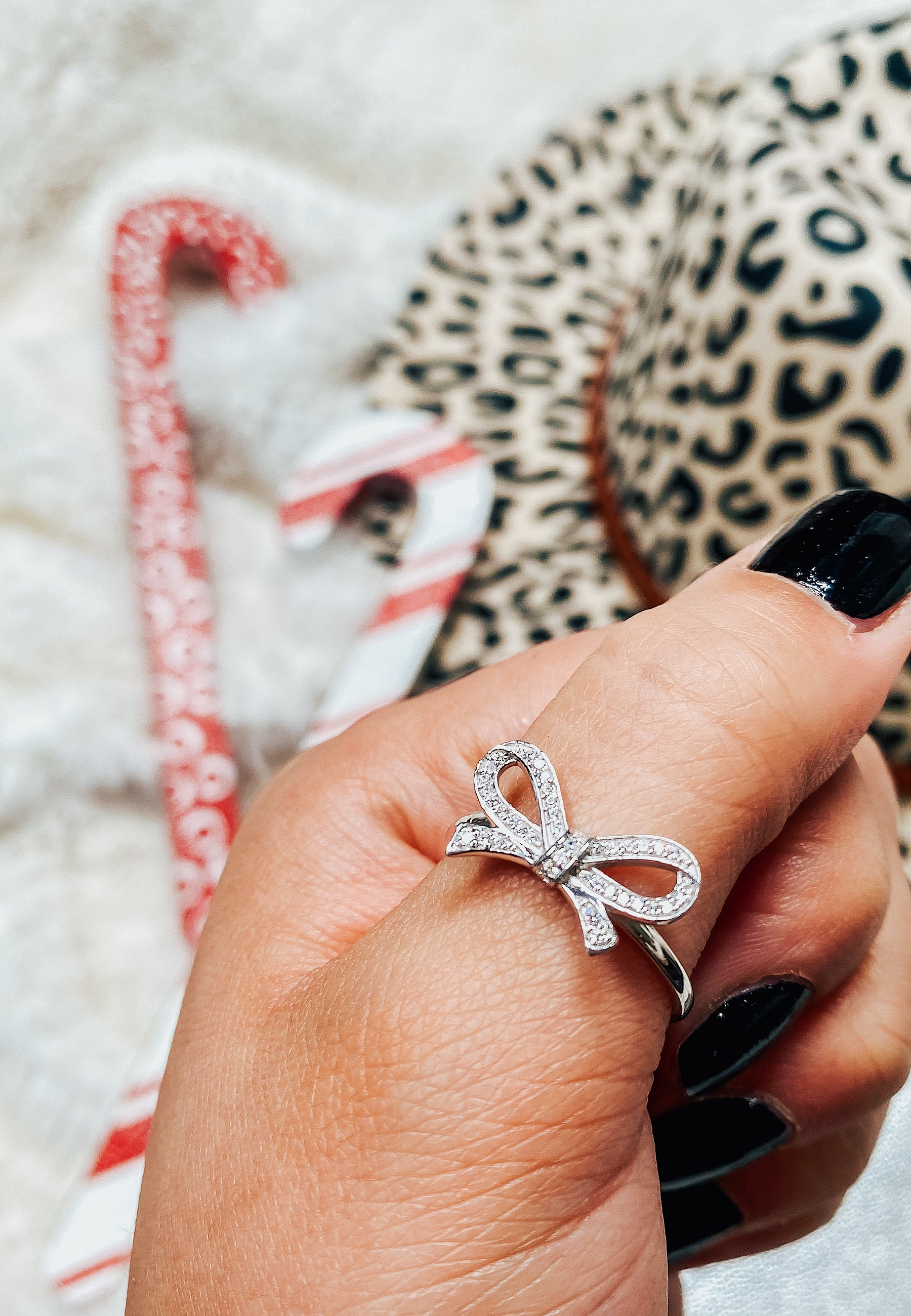 DOORBUSTER: Krush EXCLUSIVE: Crystal Pave Bow Ring