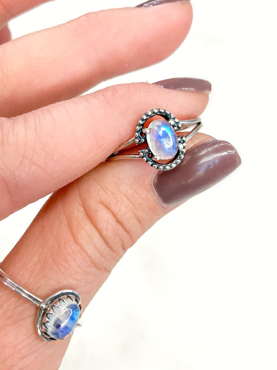 Gypsy Moonstone Ring