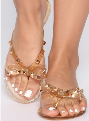 SALE $19.99 Are You Jelly Sandal