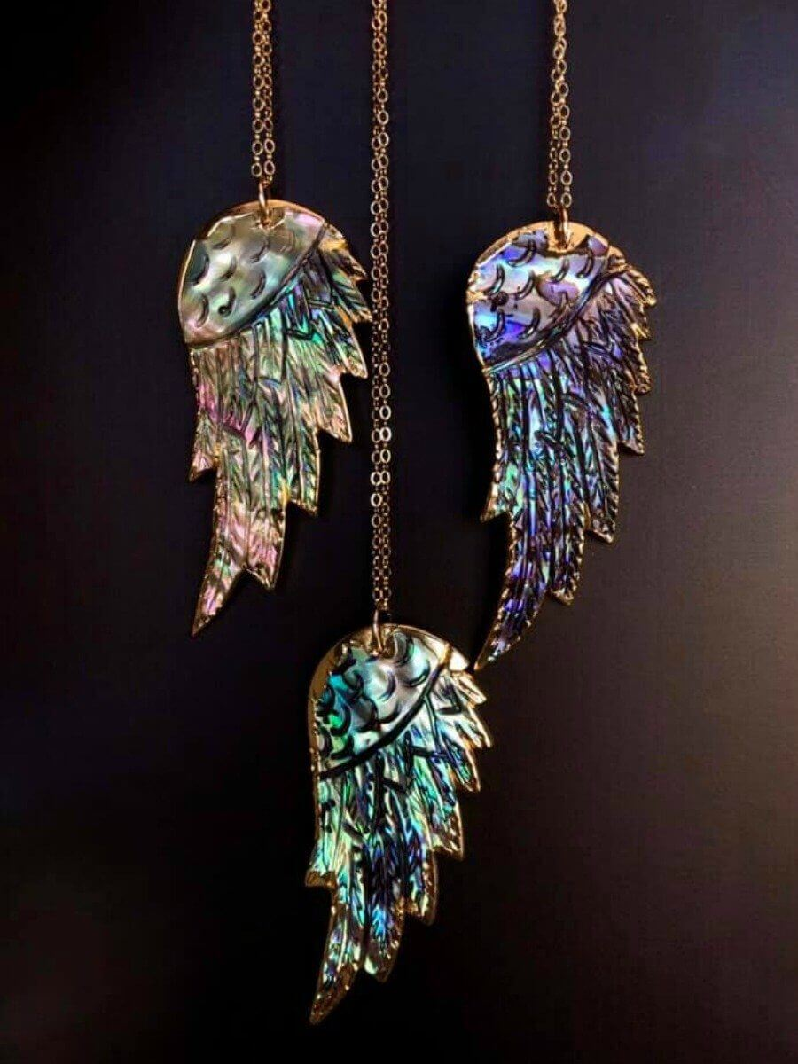 Abalone Wing Necklace