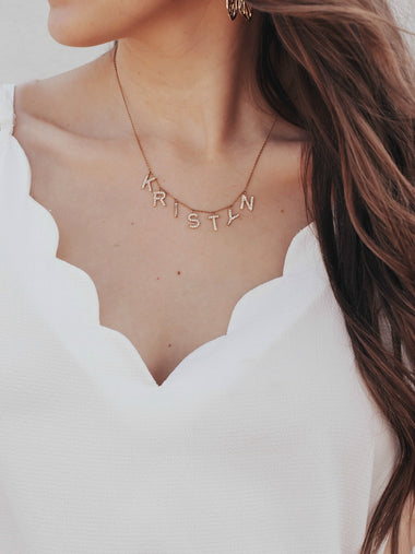 Pre-Order That's My Name Necklace