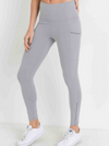 Mesh Side Slit Leggings