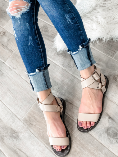 You Got This Strappy Sandals