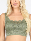 Lace Front Bra Top