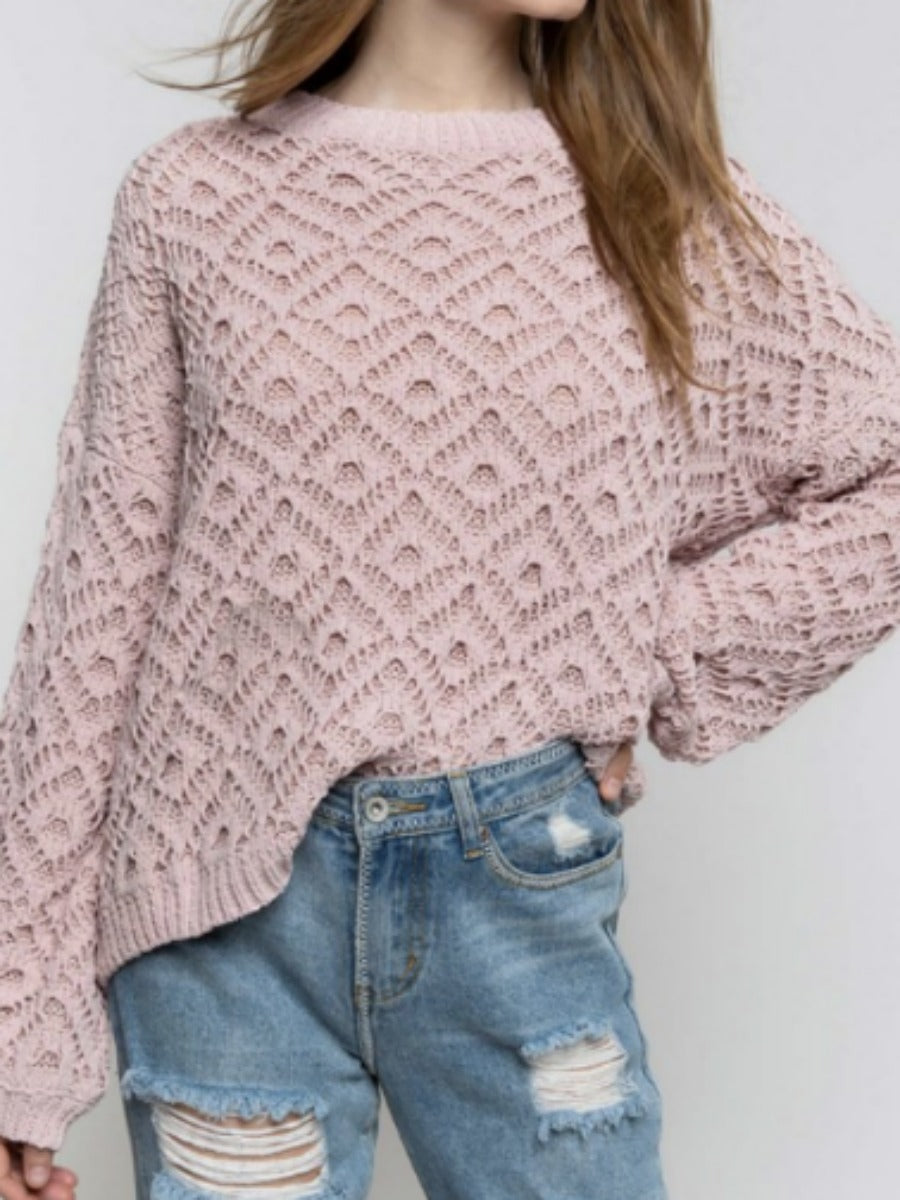 Doorbuster POL Soft Knit Sweater