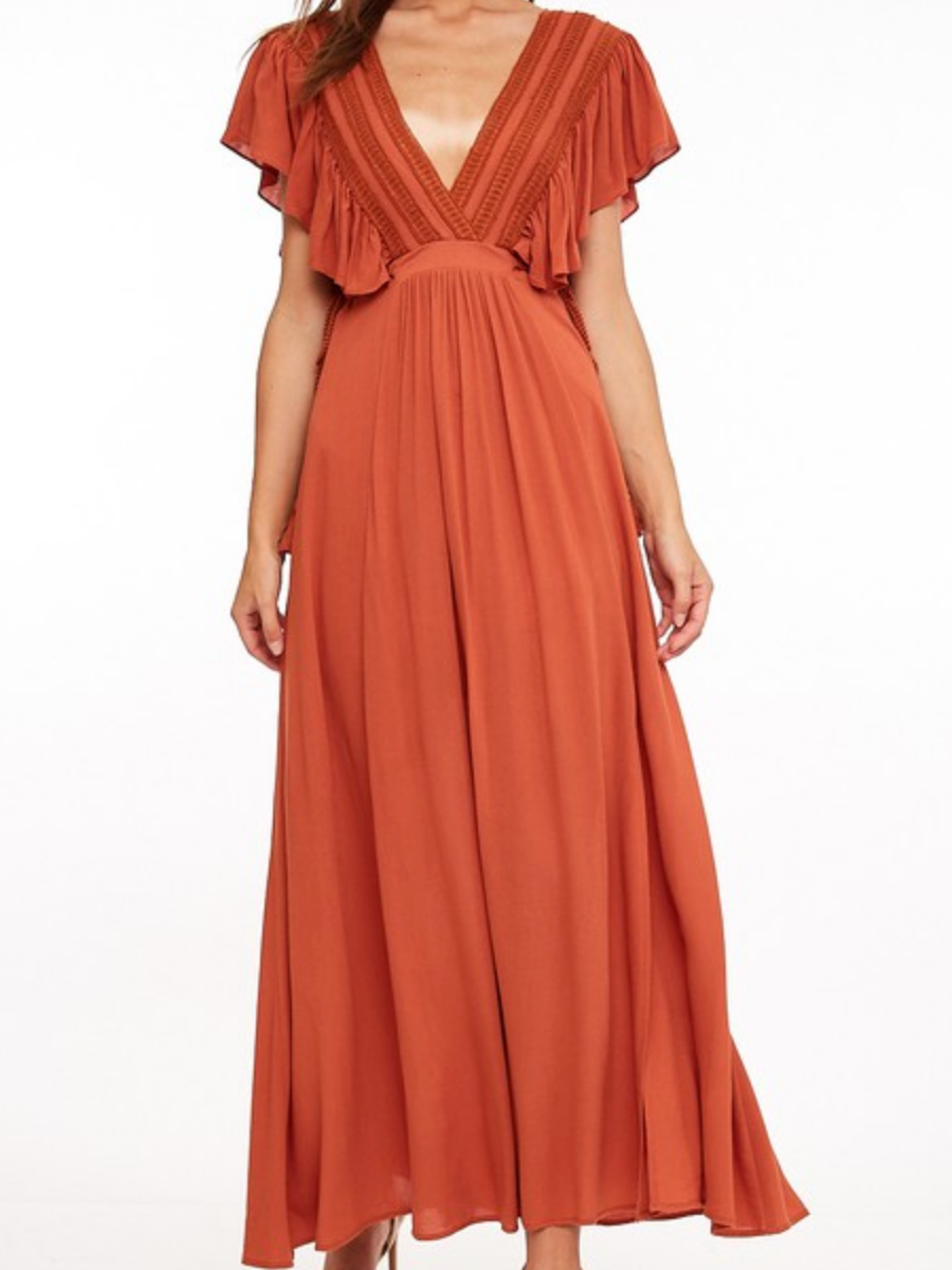 Have A Spice Day Maxi Dress