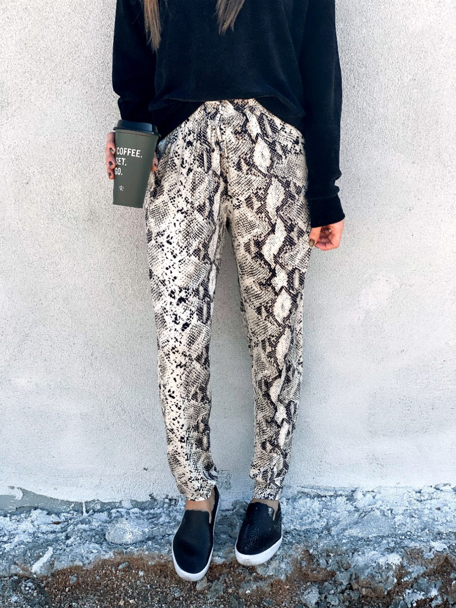 Snake Care Joggers