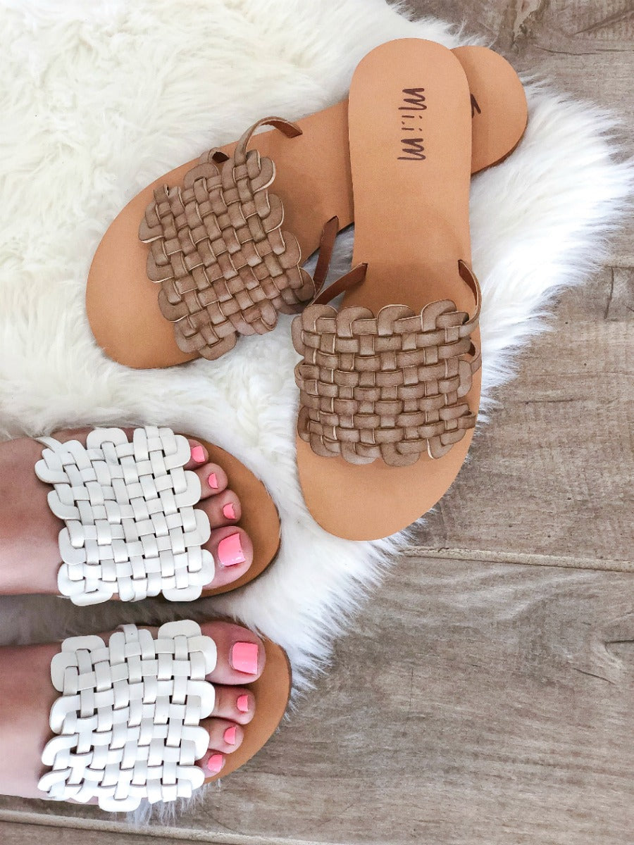 Be-Weave In Yourself Sandal