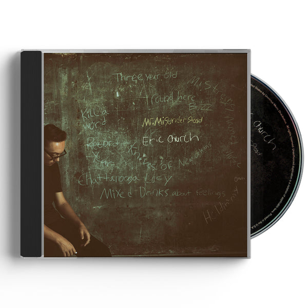 Mr. Misunderstood CD