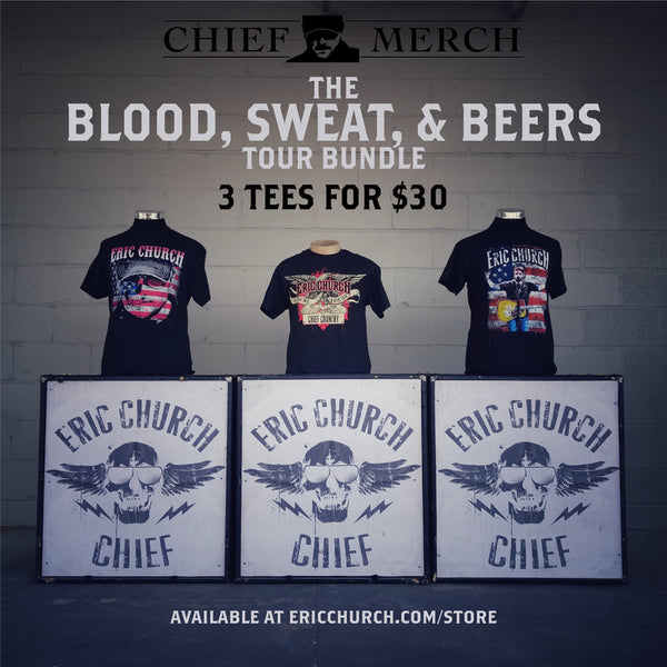 Blood, Sweat & Beers Tour Bundle