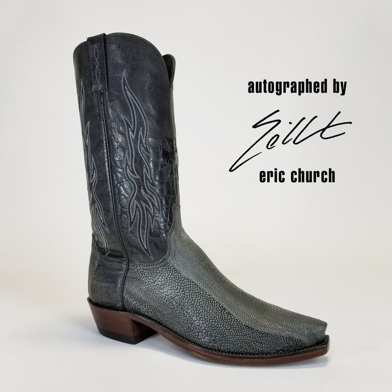 Autographed Sinner Boot