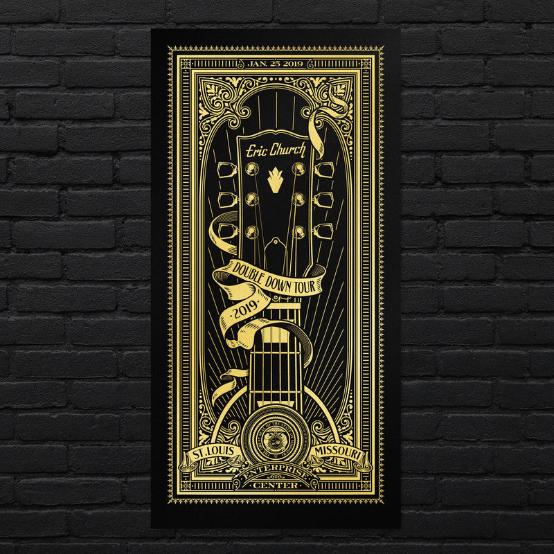 Show Poster - St. Louis - 1/25/19