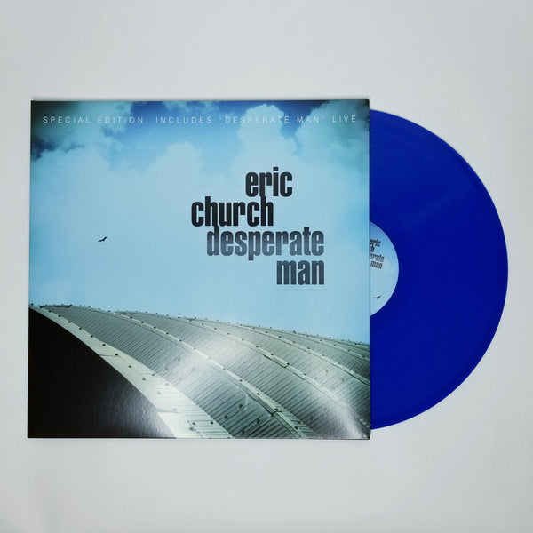 Desperate Man - Special Edition Blue Vinyl