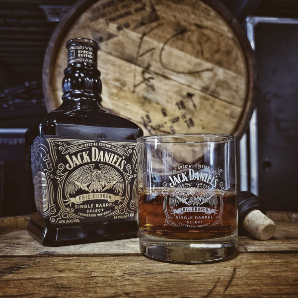 JD & EC Single Barrel Rocks Glass