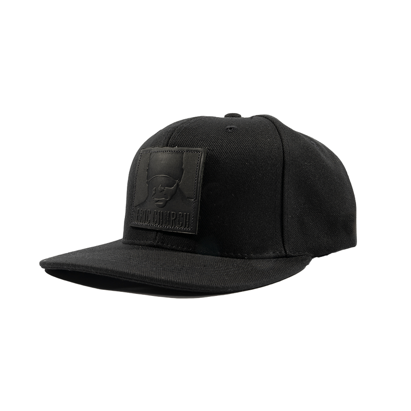 Chief Leather Patch Hat