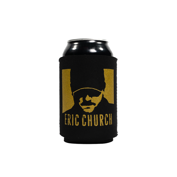 Drink In My Hand Koozie - Black & Gold