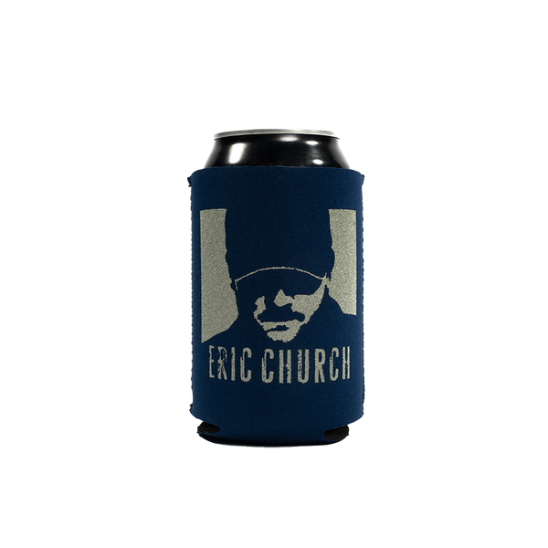 Drink In My Hand Koozie - Navy & Platinum