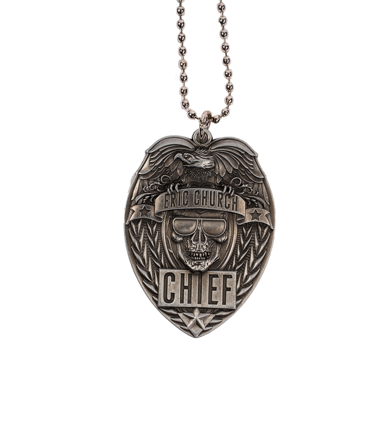 Chief Badge Necklace