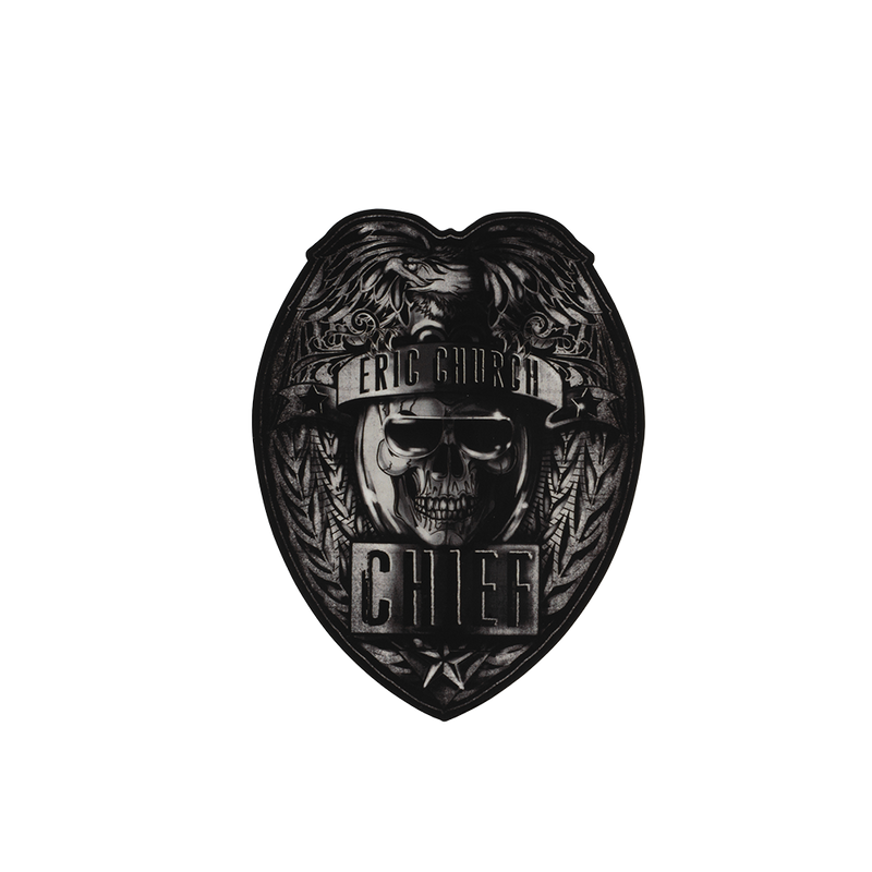 Chief Badge Sticker