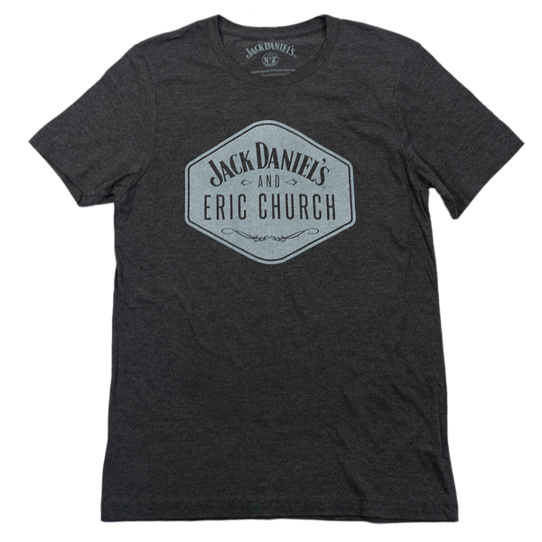 JD & EC Tee - Heather Gray