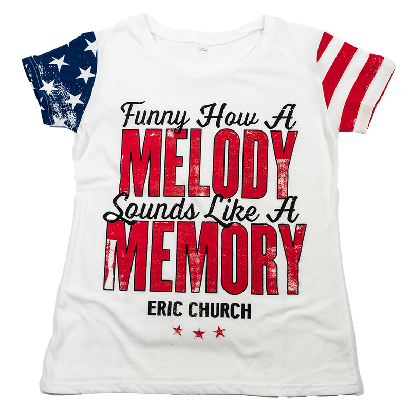 Ladies How A Melody Sounds Like A Memory T-Shirt
