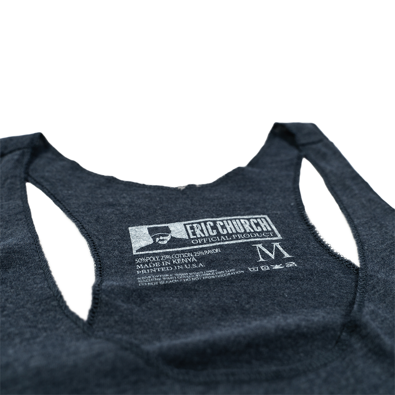 Ladies Take Flight Tank - Vintage Navy