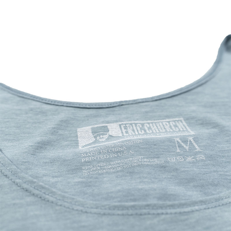 Desperate Man Stamp Logo Tank