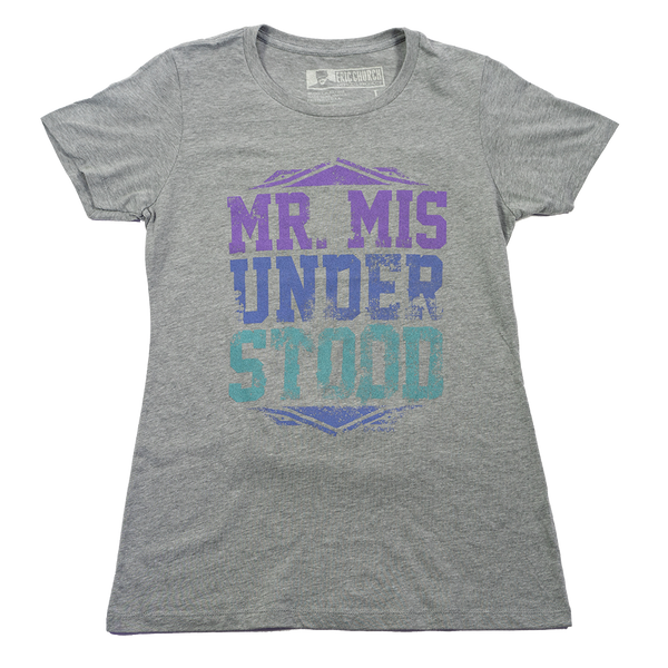 Ladies Mr. M T-Shirt