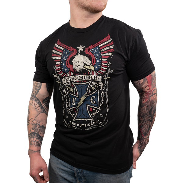 Black Eagle Barbed Wire Tee