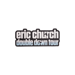 Double Down Tour Sticker