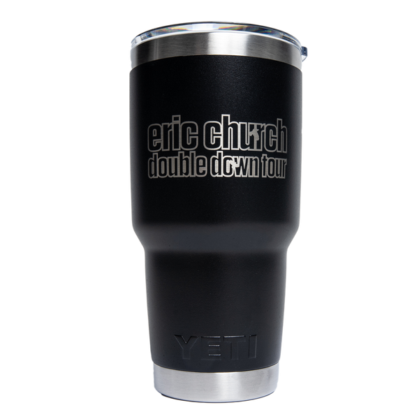 Double Down Tour YETI - 30 oz Black
